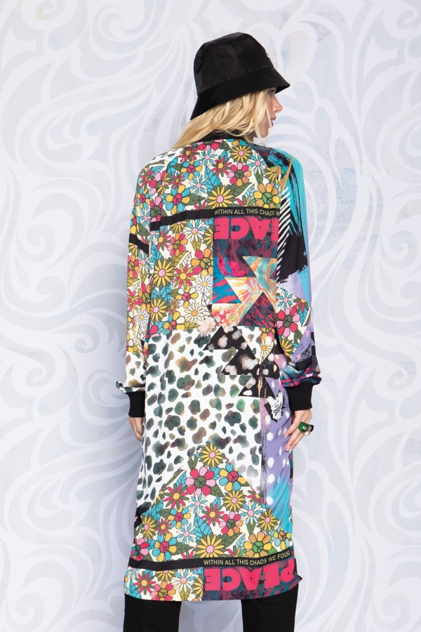PATCH ME UP LONG JACKET
